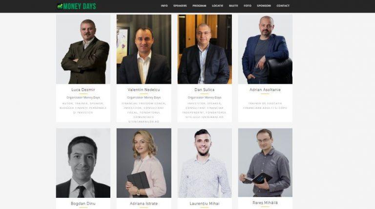 Money Days – Conferinta nationala de finante personale si investitii