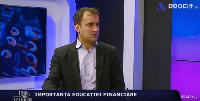Emisiune Profit.ro TV – eficienta educatiei financiare