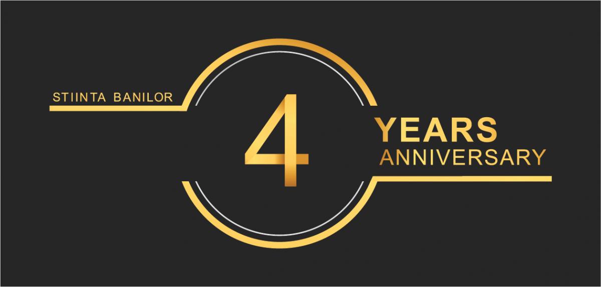 4 ani de StiintaBanilor + un cadou pentru tine