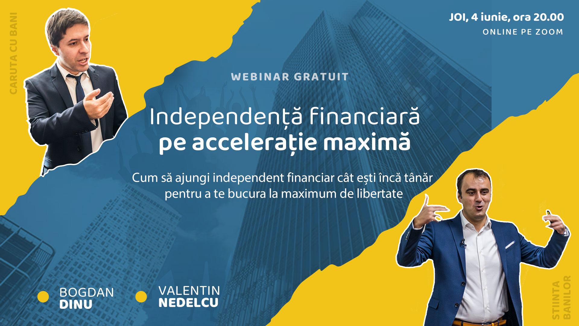 libertatea financiară și independența financiară