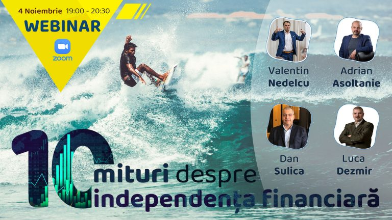 10 mituri despre independenta financiara (inregistrare webinar)