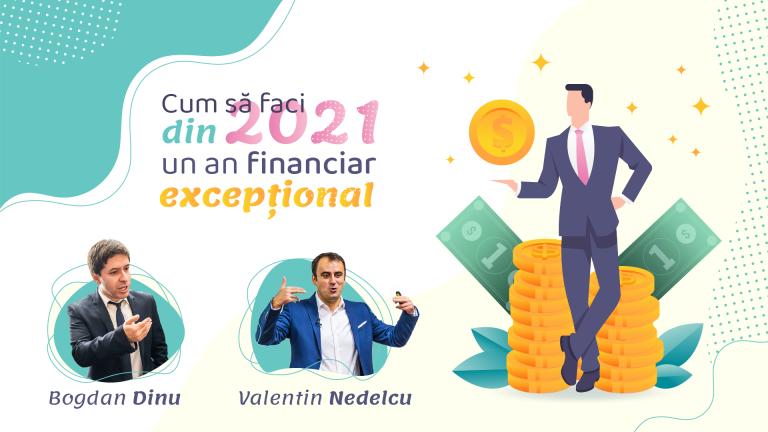 """Inregistrarea Webinar-ului """"Cum Faci Din 2021 Un An Financiar Exceptional"""""""