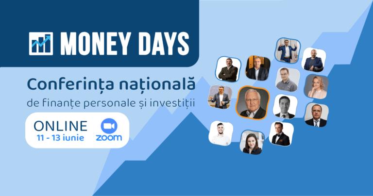 Money Days 2021 – Evenimentul Anului in finante personale si investitii